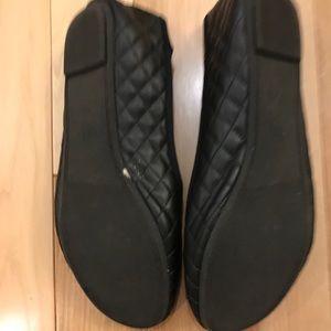 Zudio Shoes   Zudio Black Quilted Flats